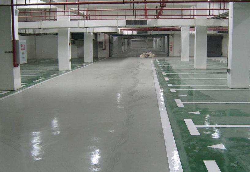 地下停车厂亚博体育官网下载地址地坪